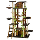 Go Pet Club 77 inch Brown-Black Cat Tree Furniture