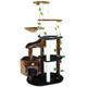 Go Pet Club 74 inch F2092 Brown-Black Cat Tree