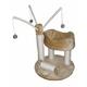 Go Pet Club 34 inch F24 Beige Cat Tree Furniture