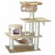 Go Pet Club 62 inch F28 Beige Cat Tree Furniture