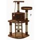 Go Pet Club 48 inch F49 Brown Cat Tree Furniture