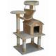 Go Pet Club 50 inch F63 Beige Cat Tree Furniture