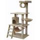 Go Pet Club 62 inch F67 Beige Cat Tree Furniture