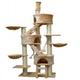 Go Pet Club 106 inch FC01 Beige Condo Cat Tree