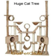 Go Pet Club 106 inch FC02 Beige Condo Cat Tree