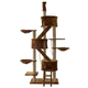 Go Pet Club 106 inch FC09 Brown Condo Cat Tree