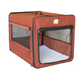 Go Pet Club Brown Soft-Sided Dog Crate 43 inch