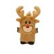 Kyjen Invincibles Mini Reindeer Dog Toy