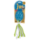 JW Play Place Spiral Football Dog Toy