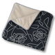 Crypton Bed of Roses Throver Dog Throw Blue