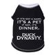 Duck Dynasty Got A Name Black Dog Tshirt X-Large