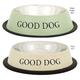 ProSelect Good Dog SS Dog Bowl 32OZ Sage Green