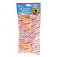 Clear Basted Bone Dog Rawhide 6in Chicken