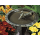 Fisherboy Sundial Birdbath Combination Bronze