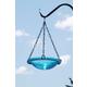 Teal Hanging Birdbath