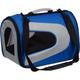 Pet Life Blue Zippered Sporty Mesh Pet Carrier LG