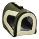 Pet Life Green Zippered Sporty Mesh Pet Carrier LG