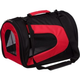Pet Life Red and Black Sporty Mesh Pet Carrier LG