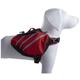 Pet Life Red Dupont Everest Dog Backpack LG