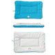 Eco-Paw Reversible Light Blue and Aqua Pet Bed LG
