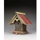 Heart and Eagle Tudor Birdhouse