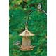 Classic Perch Bird Feeder Venetian Bronze