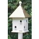 Lazy Hill Square Bird House Verdi Roof