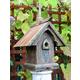 Heart and Eagle Celtic Birdhouse
