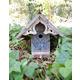 Heart and Eagle English Birdhouse