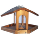 Stovall Wood Multi Sided Feeder With Chain