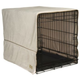 Pet Dreams Ivory Plush Crate Cover X-Large