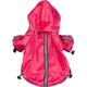 Pet Life Hot Pink Reflecta Sport Rain Jacket XS