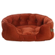 One for Pets Faux Suede Snuggle Pet Bed Navajo SM