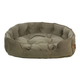 One for Pets Faux Suede Snuggle Pet Bed Taupe LG