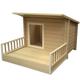 New Age Pet Santa Fe Chalet Medium Dog House