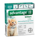 Advantage II for Kittens 4-Month Supply