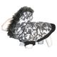 Pet Life Deer Pattern Parka Dog Coat XS