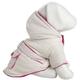 Pet Life Tan and Pink Jewel Dog Jacket MD