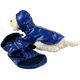 Pet Life Blue All Weather Dog Windbreaker MD