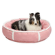 Quiet Time Deluxe Rondelle Pet Bed Pink Large