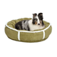 Quiet Time Deluxe Rondelle Pet Bed Green Large