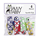 Savvy Tabby Sparkle Fish 4 Pk Cat Toy