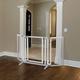 Richell Premium Plus Freestanding Pet Gate White