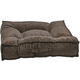 Bowsers Piazza Chocolate Bones Dog Bed Large