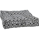 Bowsers Piazza Courtyard Taupe Dog Bed Large