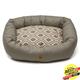 West Paw Cotton Bumper Dog Bed Walnut Groove XXL