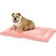 Pet Dreams Plush Sleep-eez Pink Dog Bed X-Large