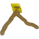 Java Wood Sandstone Forked Bird Perch Large