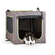 KH Mfg Classy Go Brown/Green Soft Dog Crate Xlarge