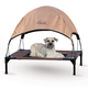 KH Mfg Pet Cot Canopy Large Gray